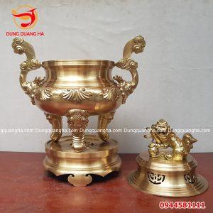 Đỉnh đồng Ý Yên Nam Định bằng catut