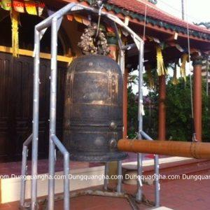 Đúc chuông đồng cao 1m5 tại nhà chùa