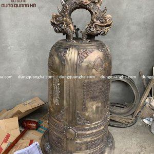 Đúc chuông đồng đại hồng chung nặng 3 tạ cho nhà chùa