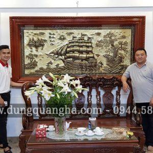 Giao tranh đồng Thuận Buồm Xuôi Gió 2m3 tại nhà cho khách