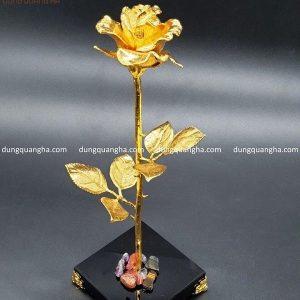 Hoa hồng mạ vàng 24k - Quà tặng tinh xảo, ý nghĩa