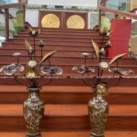 Ý nghĩa đặc biệt của Lọ hoa thờ bằng đồng