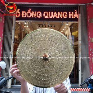 Mặt trống đồng Ngọc Lũ kích thước 40cm