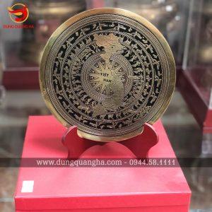 Mặt trống đồng quà lưu niệm kích thước 20cm