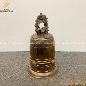 Quả chuông đồng ngân vang cỡ nhỏ nặng 4 kg