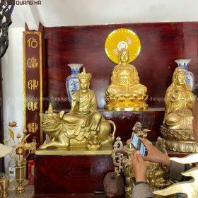 Quy trình làm tượng Bồ Tát Địa Tạng cao 86cm hàng đặt theo yêu cầu