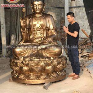 Thăm quan xưởng đúc tượng Phật Ý Yên – Nam Định