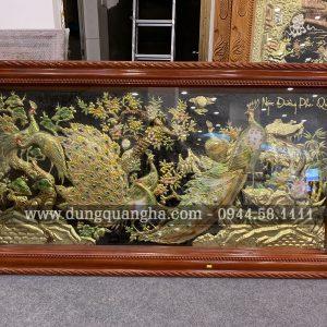 Tranh đồng Ngọc Đường Phú Quý 2m3 x 1m15