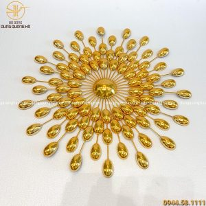 Tranh hạt mạ vàng 50cm hàng đặt thiết kế ấn tượng