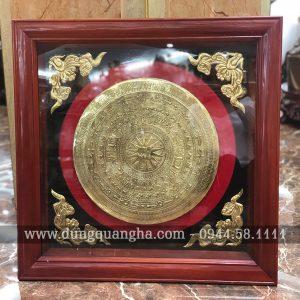 Tranh mặt trống đồng treo tường – bản sắc văn hóa thuần Việt