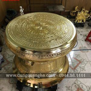 Trống đồng Ngọc Lũ trưng bày phòng khách đẹp nhất