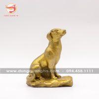 Tượng chó phong thủy bằng đồng – linh vật trừ tà ý nghĩa