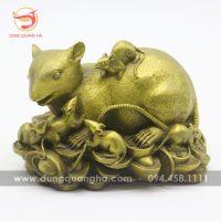 Tượng chuột bằng đồng – biểu tượng con chuột trong văn hóa dân gian