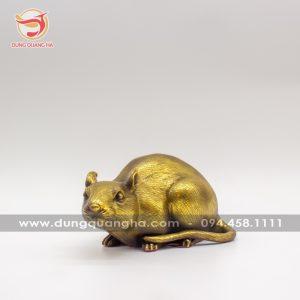 Tượng con chuột bằng đồng – Linh vật phong thủy đẹp