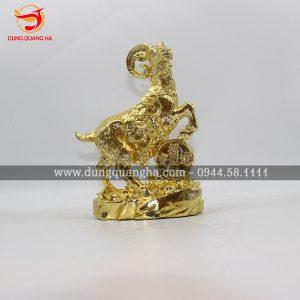 Tượng dê mạ vàng đẹp sống động, giá rẻ tại Hà Nội