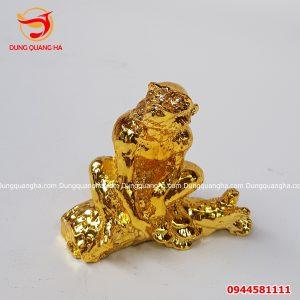 Tượng khỉ bằng đồng size nhỏ 7cm