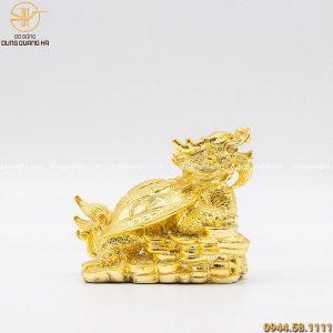 Tượng Long Quy bằng đồng mạ vàng 24k ý nghĩa sâu sắc