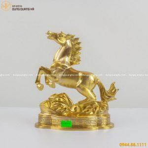 Tượng ngựa bằng đồng catut - linh vật phong thủy đẹp