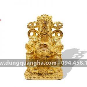 Tượng ông Thần Phát mạ vàng 24k