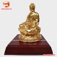 Tượng Phật A Di Đà bằng đồng hàng làm kĩ