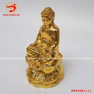 Tượng Phật A Di Đà để xe ô tô cao 11cm