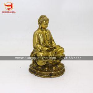 Tượng Phật A Di Đà để xe ô tô mang lại bình an, may mắn