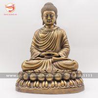 Tượng Phật Thích Ca Mâu Ni bằng đồng cổ kính