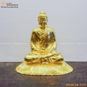 Tượng Phật Thích Ca tọa thiền bằng đồng dát vàng tinh xảoTượng Phật Thích Ca tọa thiền bằng đồng dát vàng tinh xảoTượng Phật Thích Ca tọa thiền bằng đồng dát vàng tinh xảo