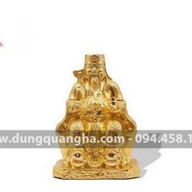 Tượng Thần Tài bằng đồng mạ vàng 24k
